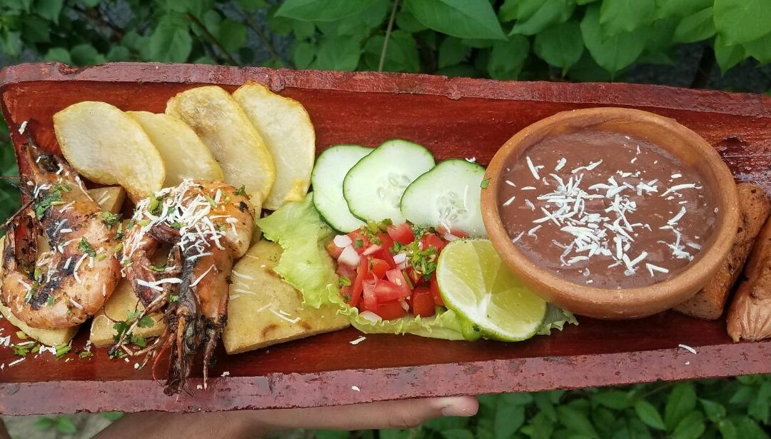 Parriteja, manjar culinario en el municipio de Chalchuapa