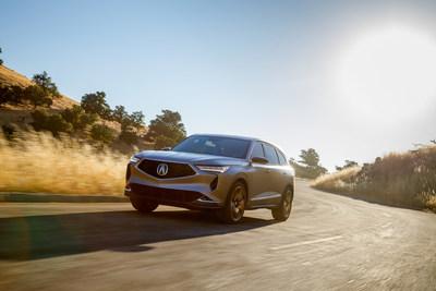 Acura presenta su último diseño innovador: la nueva MDX