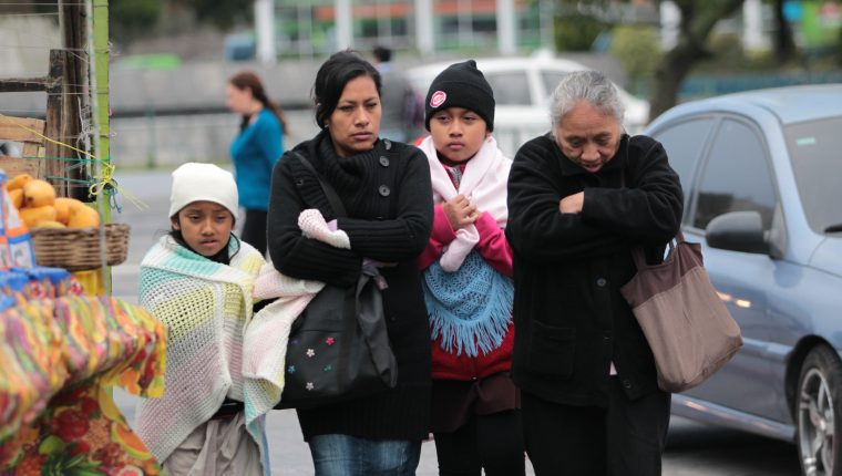 Insivumeh pronostica el ingreso de un frente frío en Guatemala el próximo jueves