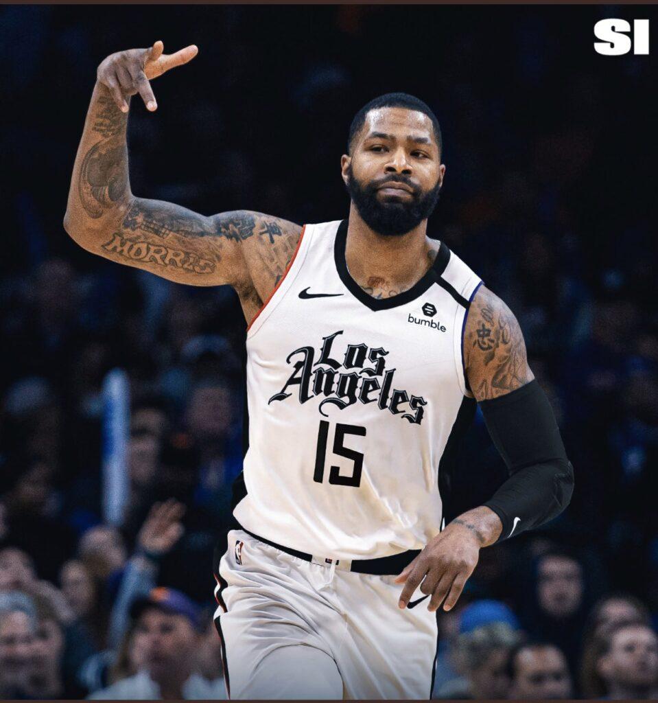 Marcus Morris seguirá siendo parte de LA Clippers