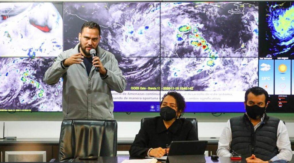 Protección Civil advierte lluvias tipo temporal por Iota