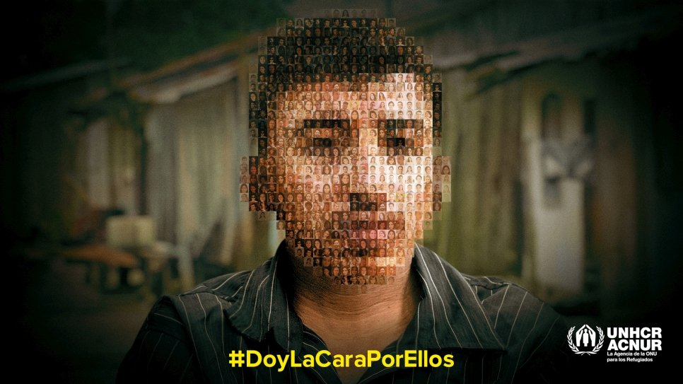 """ACNUR presenta campaña """"Doy la cara por ellos"""""""