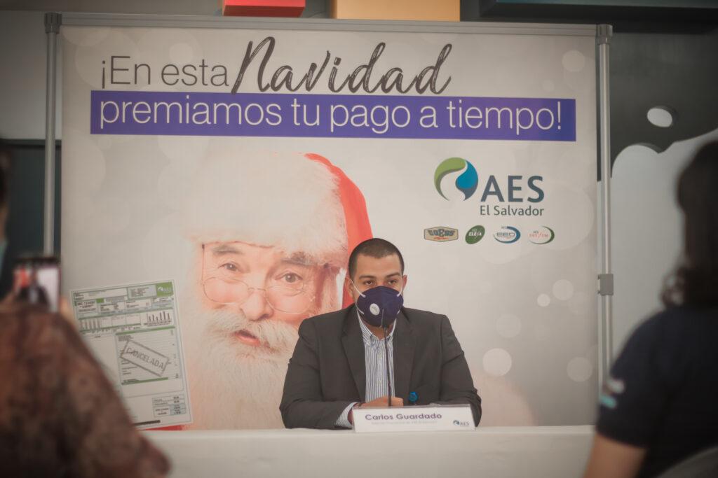 AES El Salvador lanza sorteo navideño para premiar a sus clientes
