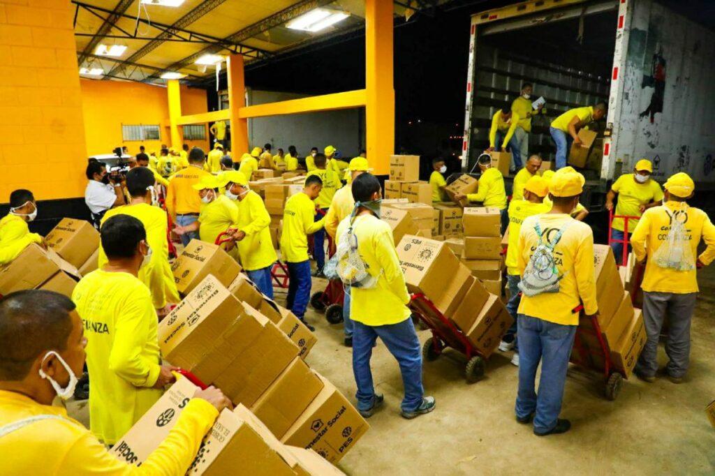 """Programa """"Yo Cambio"""" apoya en carga de alimentos internacional"""