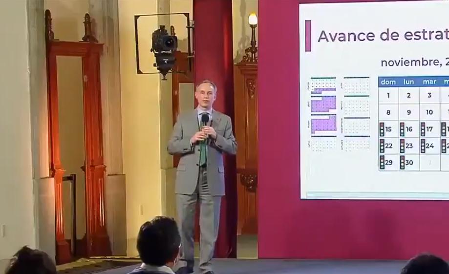López Gatell dijo que los ensayos de la vacuna contra el COVID-19 no son el inicio de la vacunación