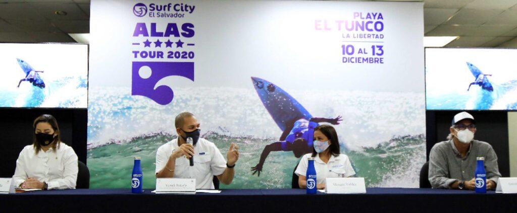 El Salvador será sede del torneo Surf City ALAS 4 Estrellas Tour 2020