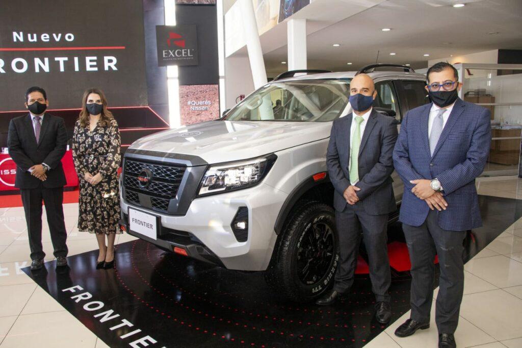 Excel lleva a Guatemala el nuevo pickup Nissan Frontier