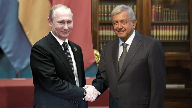 AMLO conversará con Vladimir Putin sobre la vacuna rusa