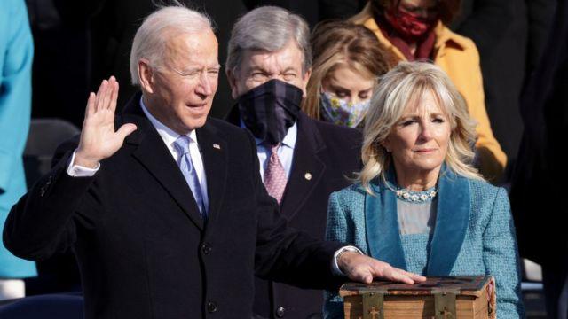 Joe Biden asume como nuevo presidente de los Estados Unidos