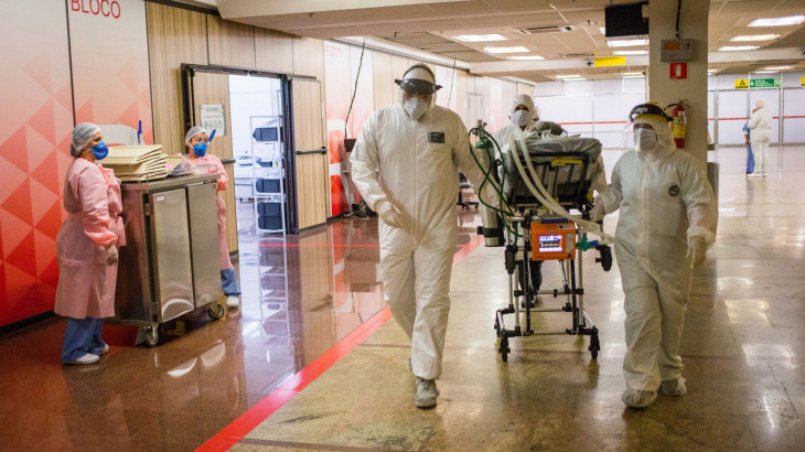 Ordenan toque de queda en Amazonas por colapso hospitalario por COVID-19