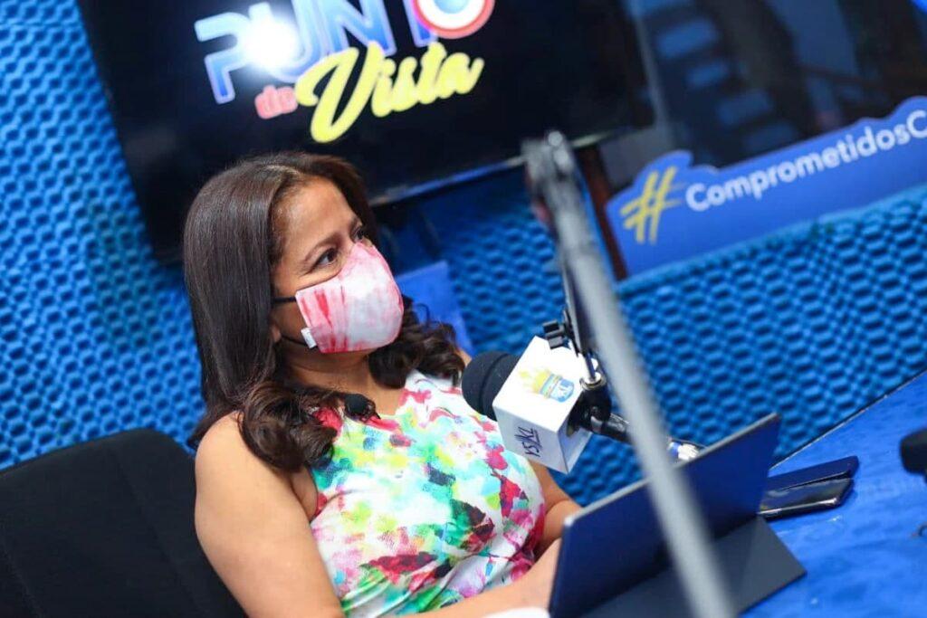 """Morena Valdez:  """"Le pido a la población que no baje la guardia ante el COVID-19"""""""