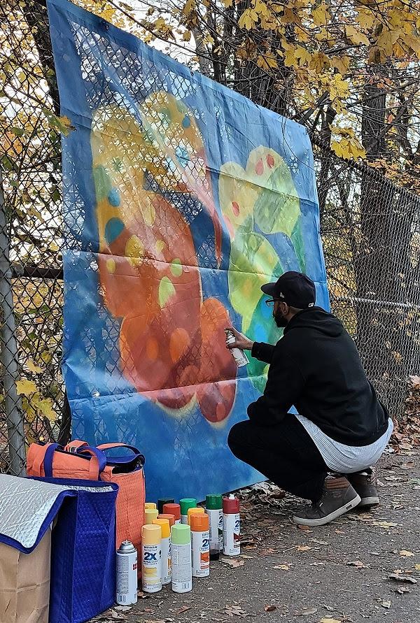Artistas Contemporáneos se unen para embellecer la Ruta  Fort George Hill Del  Highbridge Park