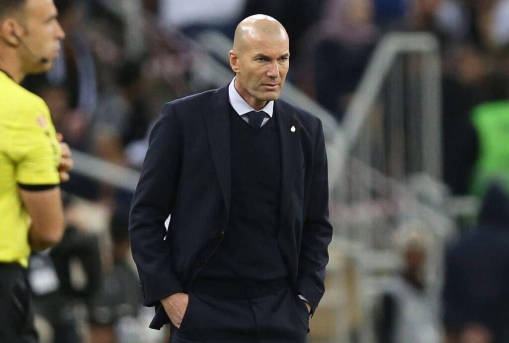"""Zidane sobre su futuro: """"A ver lo que pasa estos días"""""""
