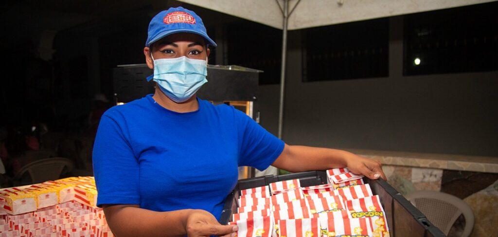 Cine para Todos llega a mas lugares del interior del país