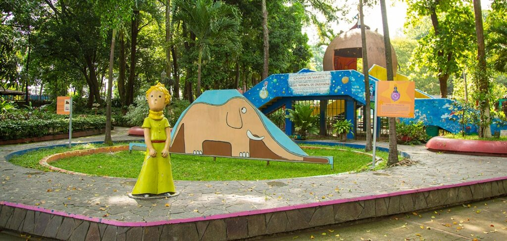 Conmemoran declaratoria del Parque Infantil como Sitio Histórico