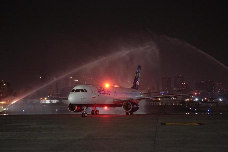 JetBlue inaugura sus vuelos entre Nueva York y Guatemala