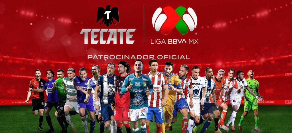 Heineken USA y su marca Tecate anunciaron el patrocinio de la Liga BBVA MX