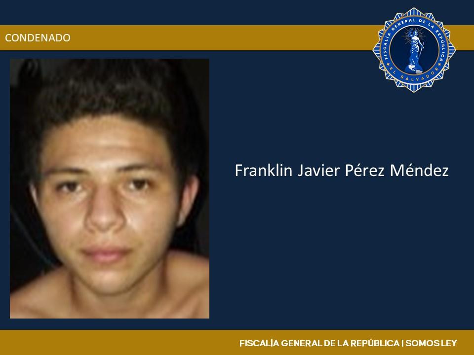 Pandillero es sentenciado a 33 años de prisión por homicidio agravado y homicidio tentado