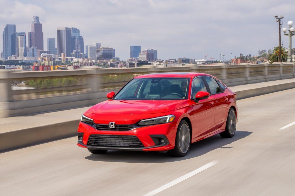 El nuevo Civic Sedan 2022 de Honda llega a Estados Unidos