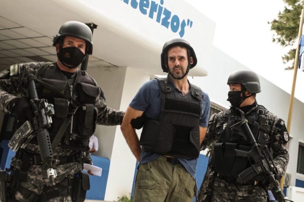Trasladan al exalcalde Ernesto Muyshondt al Centro Penal La Esperanza